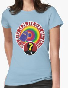 The Next Doctor Womens Fitted T-Shirt