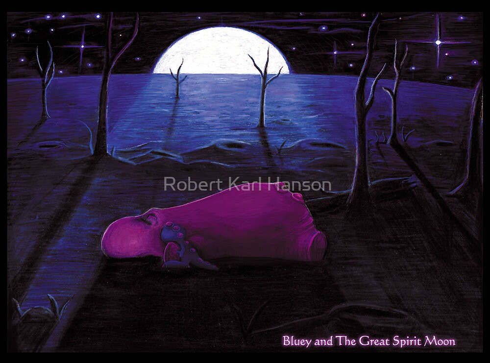 'Shee in the Barren Desert' by Robert Karl Hanson