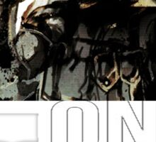 Metal Gear Solid - One More Time - White  Sticker