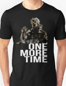 Metal Gear Solid - One More Time - White  T-Shirt