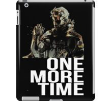 Metal Gear Solid - One More Time - White  iPad Case/Skin
