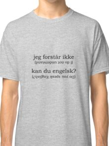 Point & Go Language Traveller Tee - Danish Classic T-Shirt