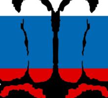 Russian Fists Sticker