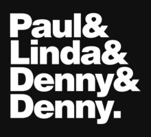 Paul & Linda & Denny & Denny by w1ckerman