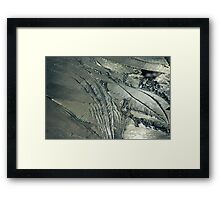 Contrast on Ice - II Framed Print