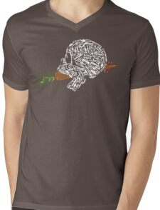 Eat Your Vegetables Mens V-Neck T-Shirt