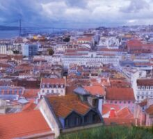 Lisbon Portrait Painterly Sticker