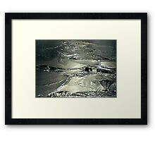 Contrast on Ice - III Framed Print