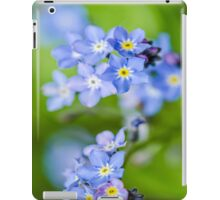 Forget-me-not iPad Case/Skin