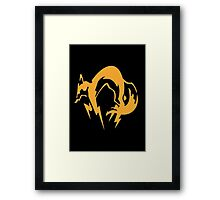 Metal Gear Solid - Fox Framed Print