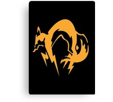 Metal Gear Solid - Fox Canvas Print