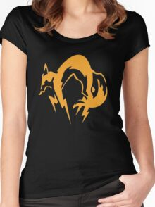 Metal Gear Solid - Fox Women's Fitted Scoop T-Shirt