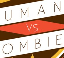 Humans Vs Zombies // Royal Holloway Sticker