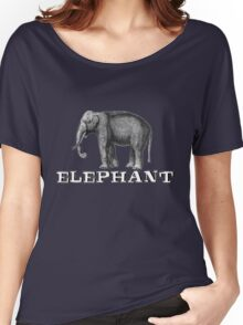 Elephant. Women's Relaxed Fit T-Shirt