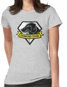 Metal Gear Solid - Diamond Dogs Womens Fitted T-Shirt