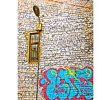 Paint on the Wall Photographic Print
