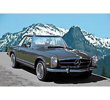 1969 Mercedes-Benz 280SL Photographic Print