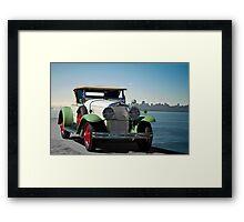 1929 Cadillac 341B Framed Print