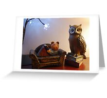 Avid Readers Greeting Card
