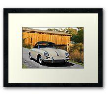 1960 Porsche 356 Roadster Framed Print