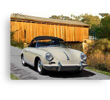 1960 Porsche 356 Roadster Canvas Print