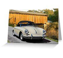 1960 Porsche 356 Roadster Greeting Card