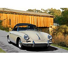 1960 Porsche 356 Roadster Photographic Print