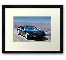 1980 Maserati Merak SS Framed Print