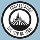 Space Mountain Constellation City by AngrySaint