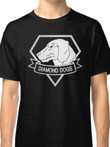 Metal Gear Solid - Diamond Dogs - White Classic T-Shirt