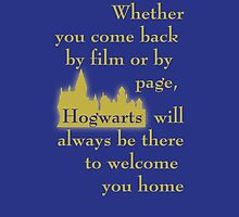 Hogwarts is our Home - Ravenclaw colors (book version) by bsbrock