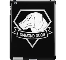 Metal Gear Solid - Diamond Dogs - White iPad Case/Skin