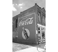 Route 66 - Coca Cola Mural Photographic Print