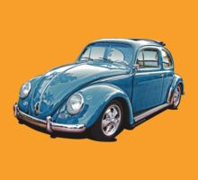 VW Beetle Ragtop 'Cal-look' by Sharknose