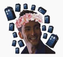 The 10th Doctor and the TARDISes by itsmoontime