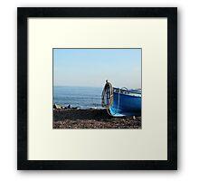 A fisherman's boat  Framed Print