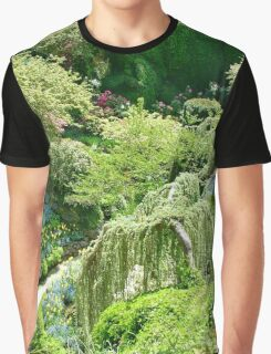 Butchart Gardens BC Canada Graphic T-Shirt