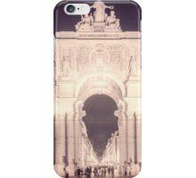 Rua Agusta Arch Lisbon Textured III iPhone Case/Skin