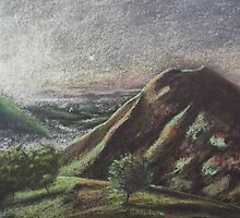 Thorpe Cloud, Dovedale by Al' Warner
