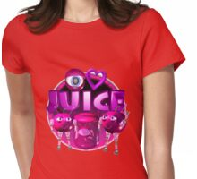 I Love Juice w/ cherry from Valxart.com Womens Fitted T-Shirt