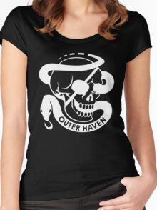 Metal Gear Solid - Outer Heaven Women's Fitted Scoop T-Shirt