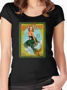 Mermaid of Jamaica Women's Fitted Scoop T-Shirt