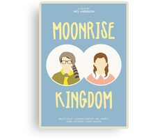 Moonrise Kingdom film poster Canvas Print