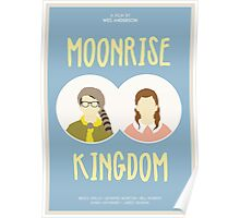Moonrise Kingdom film poster Poster