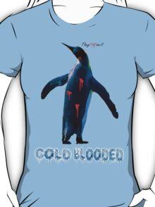 """COLDBLOODED"" Pengui-Cide T-Shirt"