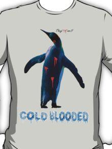 """COLDBLOODED"" Pengui-Cide T-Shirt"