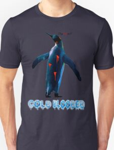 """COLDBLOODED"" Pengui-Cide Unisex T-Shirt"