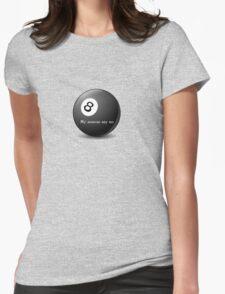 Magic 8-Ball My Sources Say No funny tee   T-Shirt