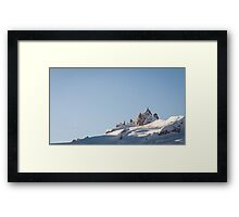 Aiguille du Midi, French Alps Framed Print