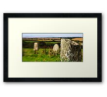Merry Maidens, Cornwall Framed Print